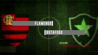 Chamada de Flamengo x Botafogo pelo Campeonato Carioca na Globo RJ (28/03/2018)