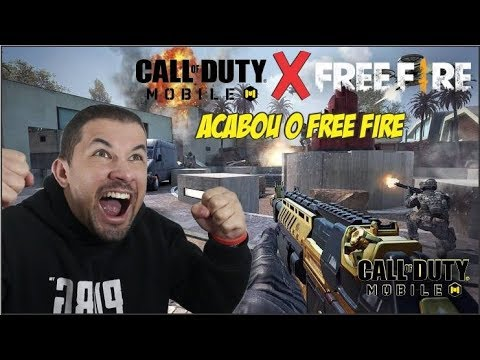 CALL OF DUTY MOBILE SERA MELHOR QUE FREE FIRE ?? ( MR MATUSALEM )