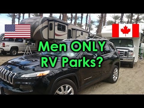 A Men's ONLY RV Park?