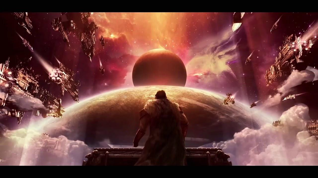 Gothic Armada Warhammer 40k End Scene Wallpaper Youtube