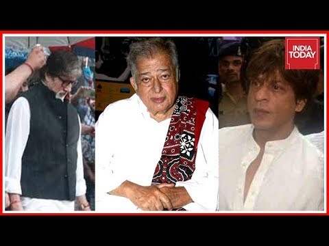 Amitabh And SRK Pay Final Tribute To Bollywood Legend Shashi Kapoor