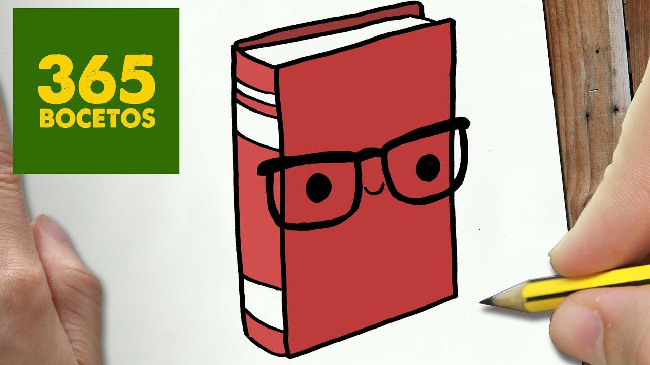 como dibujar libro kawaii paso a paso dibujos kawaii faciles how to draw a book youtube