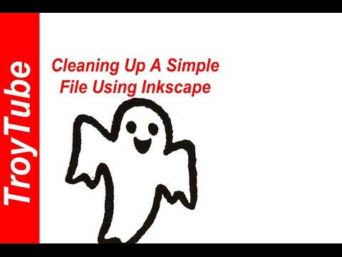 Tracing and Cleaning Up Simple Images with Inkscape
