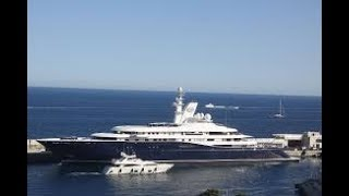 ONE OF THE WORLDS BIGGEST SUPERYACHTS