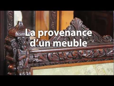 antiquit caract ristique de meuble victorien youtube. Black Bedroom Furniture Sets. Home Design Ideas