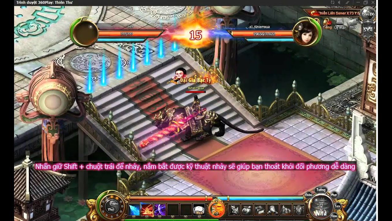 [ 360Game.vn ] Thiên Thư – Nâng cấp thú cưỡi và liên đấu server