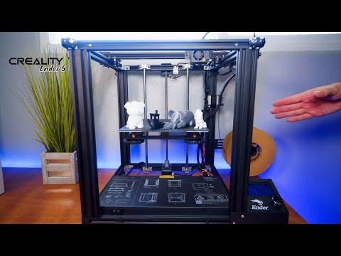 Creality Ender 5 - 3D Printer - Unbox & Setup