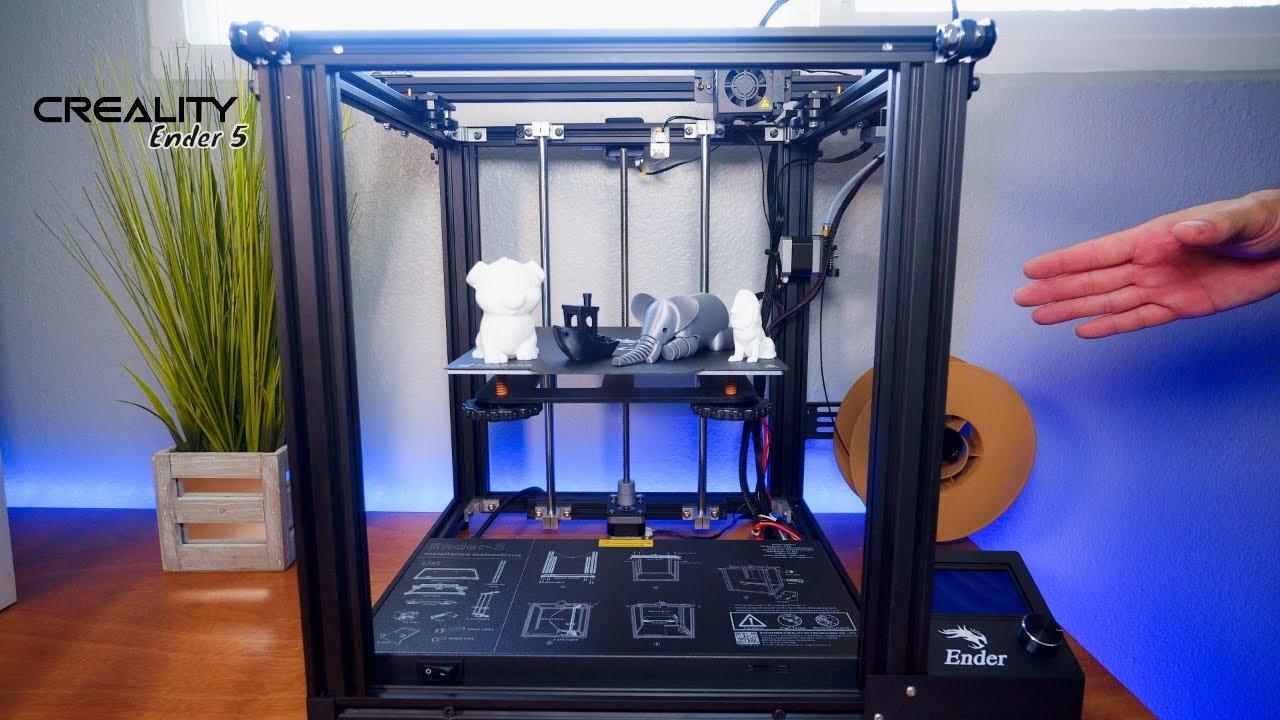 video Creality Ender 5 3D Printer (Kit)