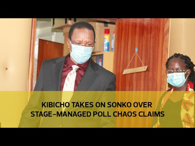 Kibicho takes on Sonko over stage-managed poll chaos claims