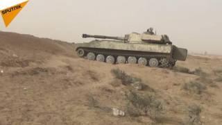 بالفيديو...الجيش السوري يلاحق مسلحي
