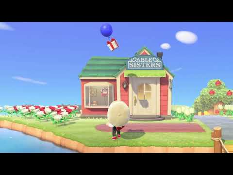 How to Get Floating Balloon Presents in Animal Crossing: New Horizons