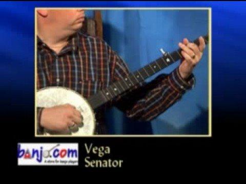 Banjo com video: demo of a Deering Vega Senator 5-String Banjo