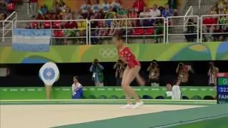 Fan Yilin 2016 Olympics QF FX