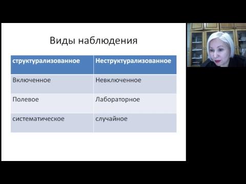 Методология социологического исследования (ч. 1)