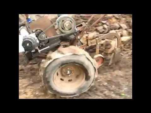 видео: Мотоблок своими руками часть 2 mini-tractor
