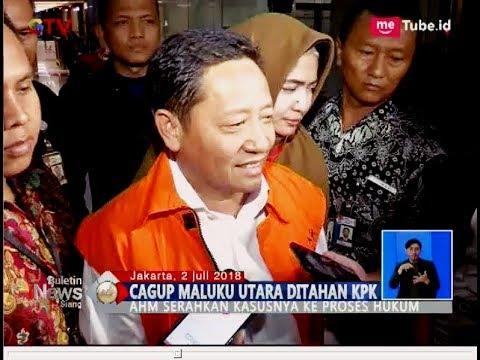 Menang Pilkada, Cagub Maluku Utara Malah Resmi Ditahan KPK - BIS 03/07