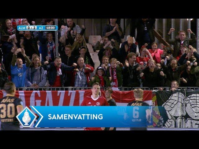 Samenvatting: Almere City FC - AZ Alkmaar (0-4) | KNVB Beker 2017/2018