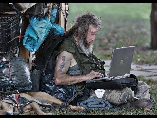 """Посмотри, как живут бездомные в разных странах. Где""""Рай"""" ???"""