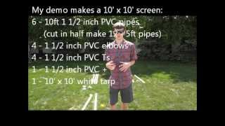 Diy: Inexpensive Indoor/outdoor Projection Screen (how To)