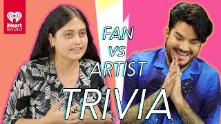 Download Adam Lambert Goes Head to Head With His Biggest Fan! | Fan Vs Artist Trivia Mp3 and Videos