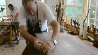 Woodworking Classes - Building A Desk At Lonnie Bird's Woodworking School