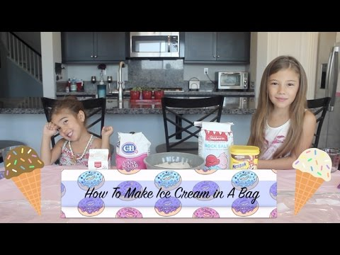 How To Make Ice Cream In A Bag (kid Friendly)