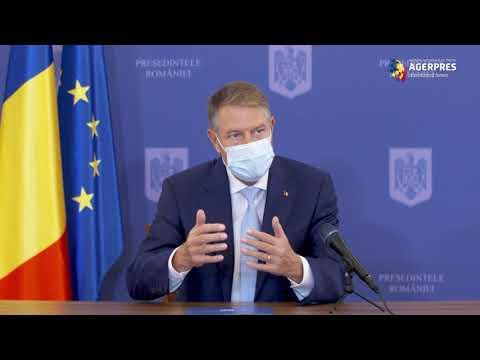 Iohannis: Ne Aşteptăm Ca Prima Tranşă De Vaccin Să Ajungă în Primul Trimestru Al Anului Viitor