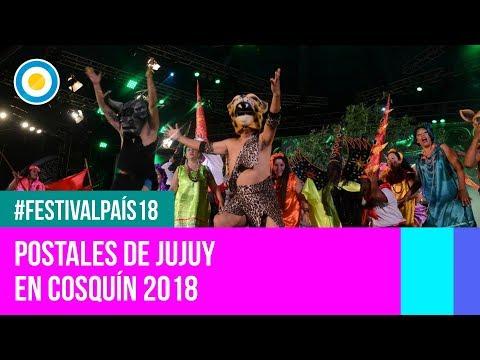 Festival País '18 -  Delegación de Jujuy en el Festival Nacional de Folklore de #Cosquín2018
