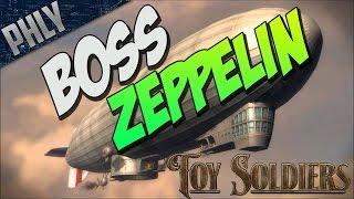 DER ZEPPELIN & LANDSHIP TANK (Toy Soldiers Game Gameplay)