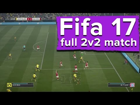 13 minutes of Fifa 17 gameplay - The first ever 2 v 2 match from Gamescom 2016