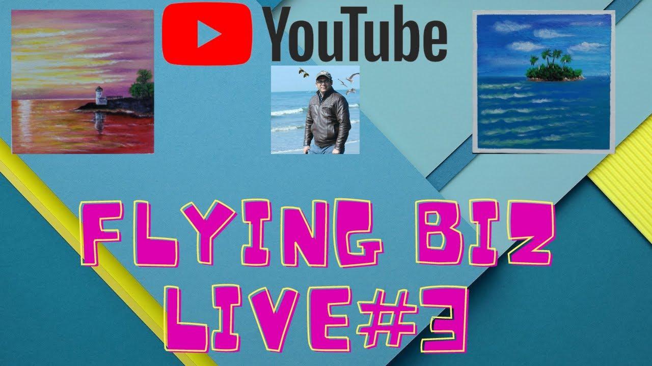 Flying Biz Live Stream - YouTube