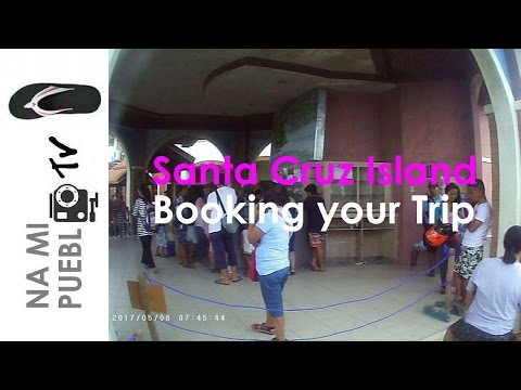 Great Sta. Cruz Island Trip - Ep.2 Booking your trip
