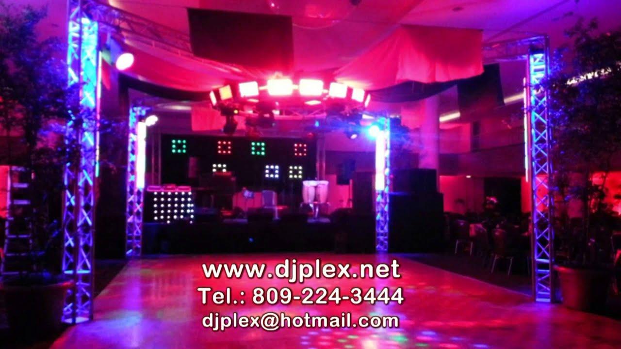 DJ PLEX  Iluminacin y montajes para fiestas y eventos Comercial TV 2015  YouTube