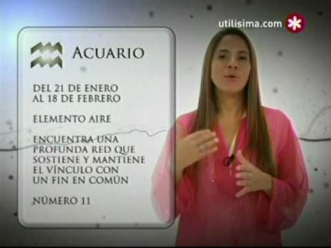 Signos Zodiacales - Acuario - YouTube