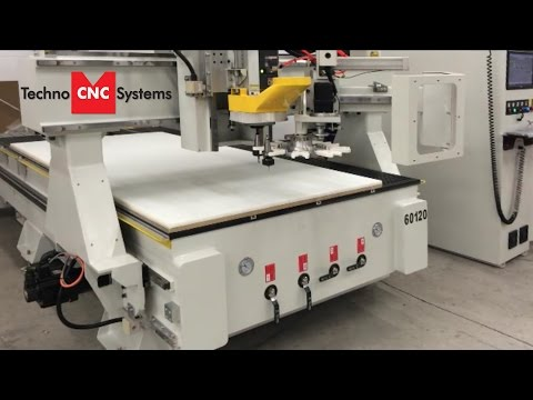 Heavy Duty CNC Router from Techno: Presenting Venture Plus Series