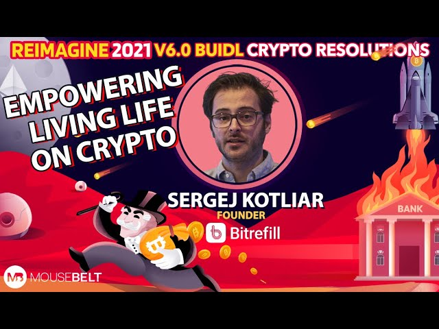 Sergej Kotliar - Bitrefill - Living On Crypto