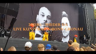 257ers - Wieder da (Live KUNST!RASEN Bonn Gronau 24.6.2017) (Full HD)