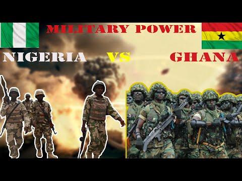 Nigeria vs Ghana Military Power Comparison ||  2020