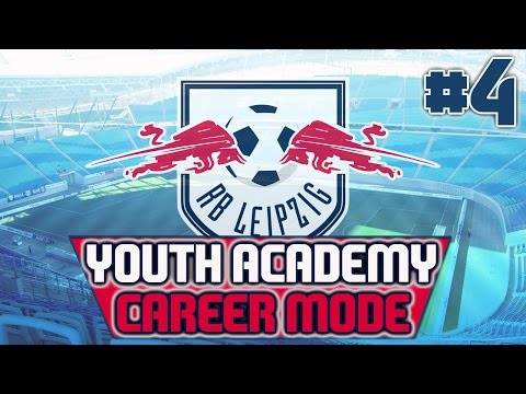 Red Bull Leipzig Youth Academy FIFA 16 Career Mode - Episode 4