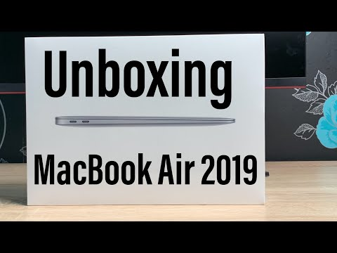 New MacBook Air 2019 Unboxing and First Impressions