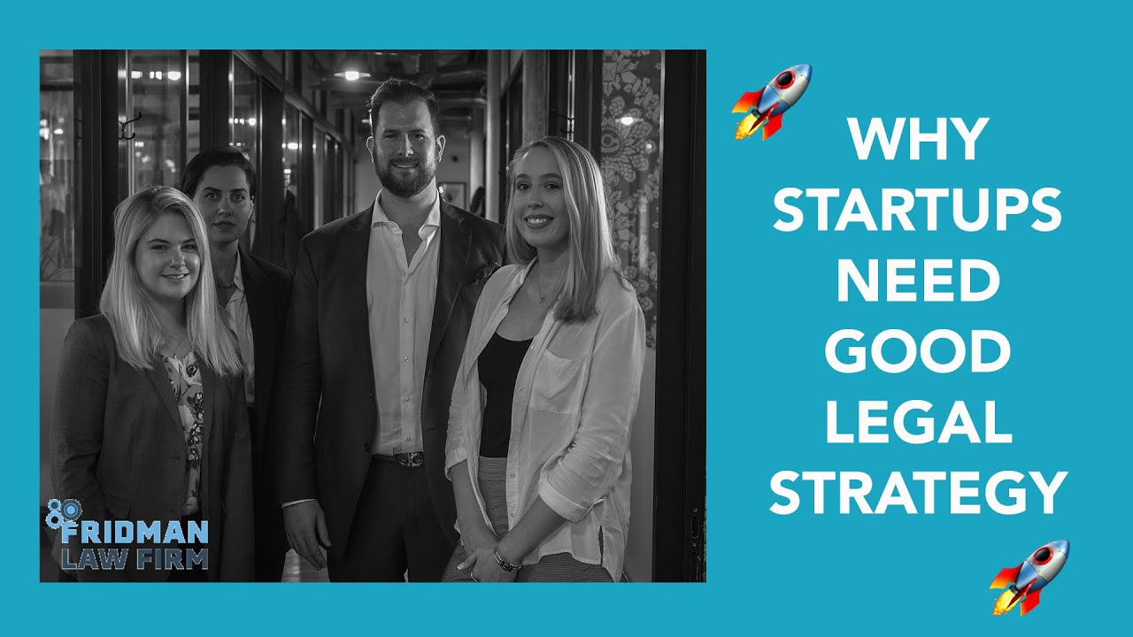 Why Your Startup Needs a STRONG LEGAL STRATEGY!