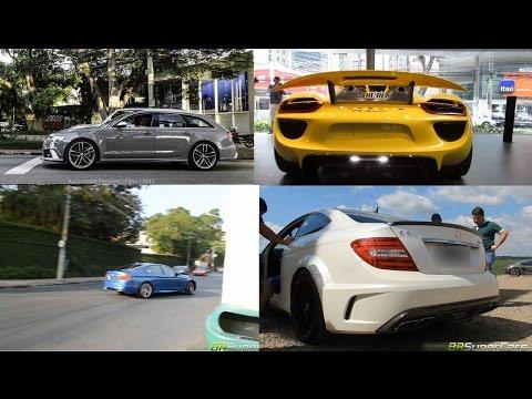 German cars in São Paulo