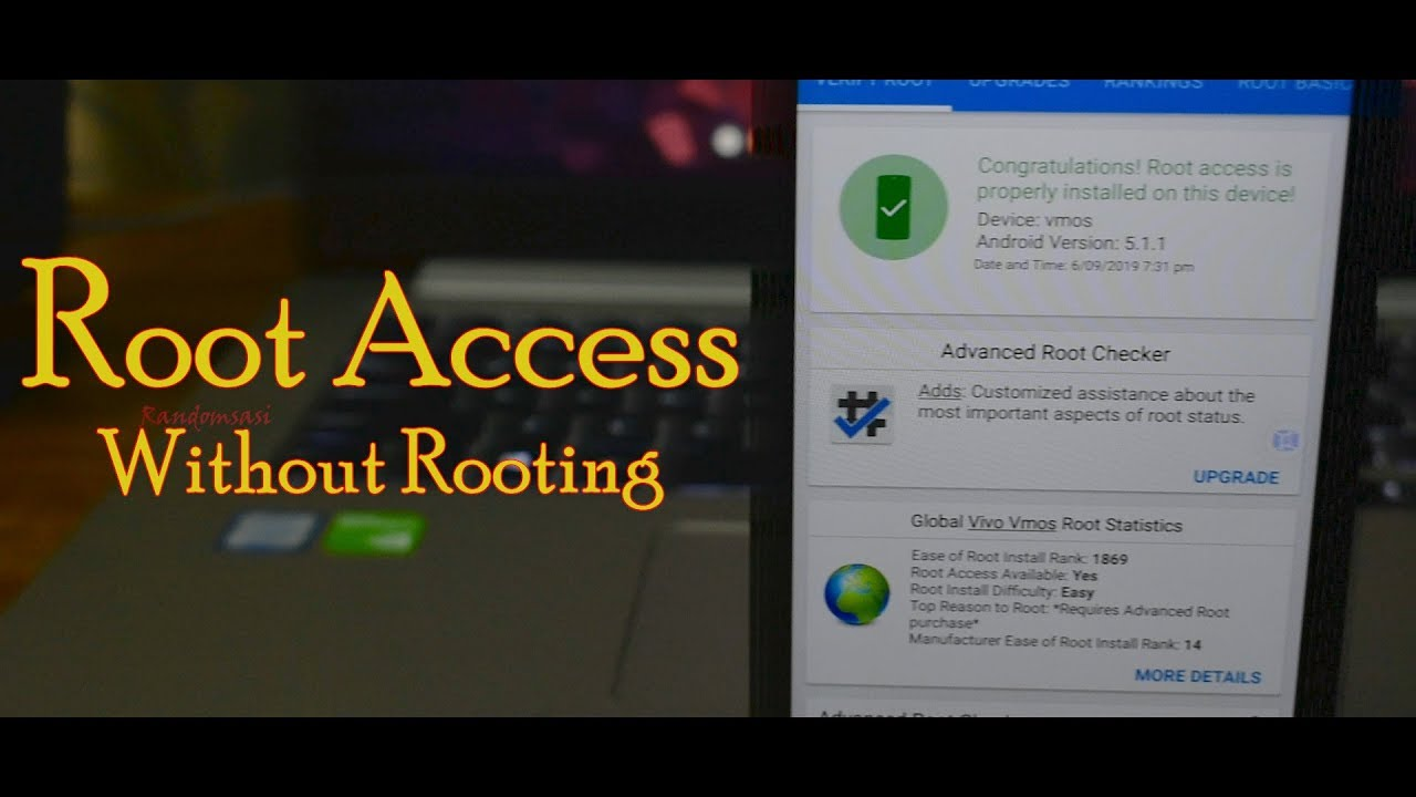 Root Access Without Rooting Youtube