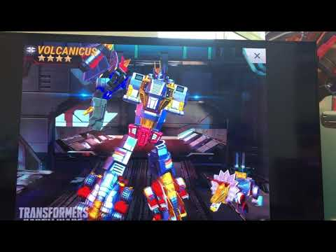 Transformers Volcanicus Transformation Video from Transformers Earth Wars at Hascon 2017