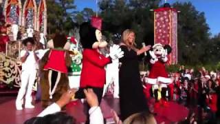 Mariah Carey - All I Want for Christmas Is You  (Live at Disney World)