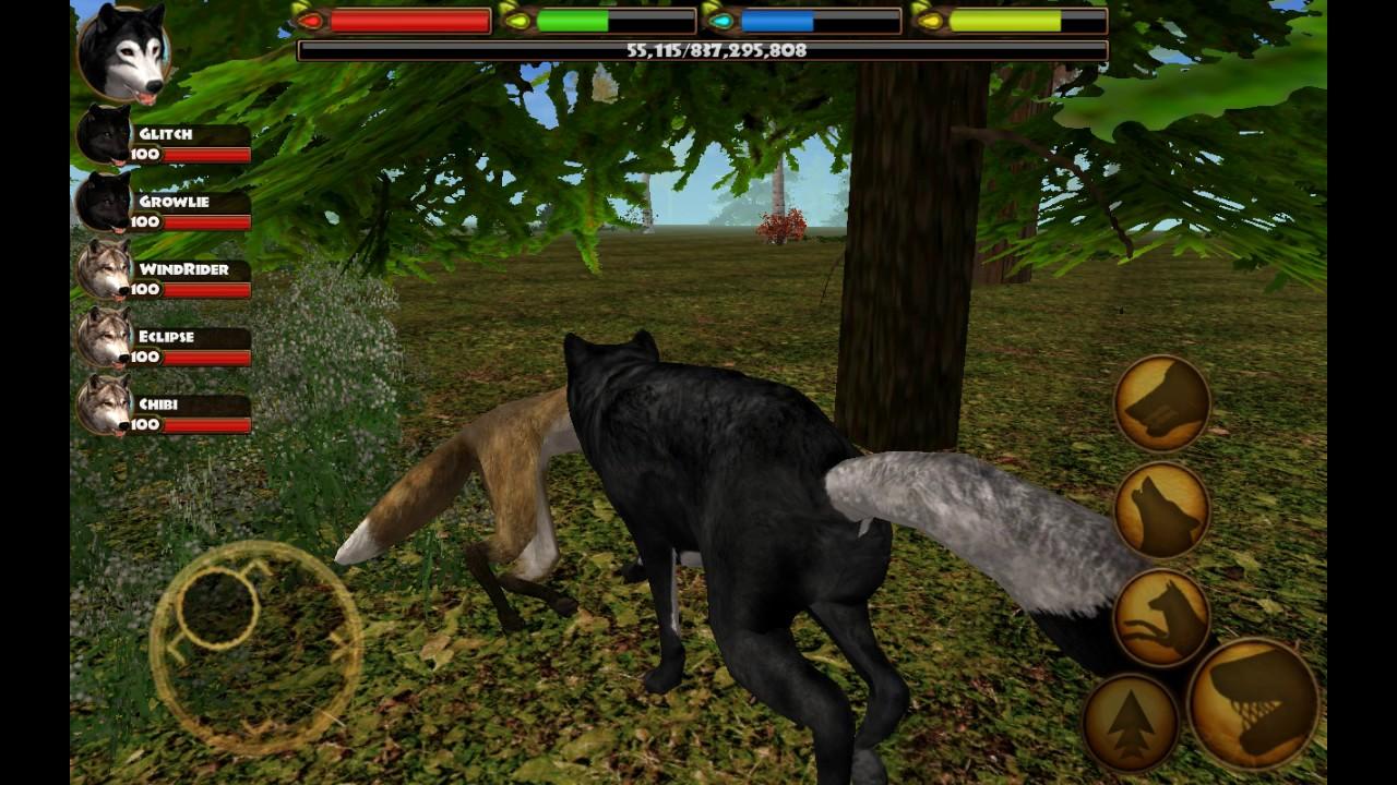 Ultimate wolf Simulator level 1000000 invincible!!