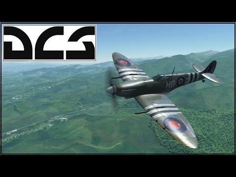 DCS 1.5 - Spitfire LF MK IX - Online Play - Mine!