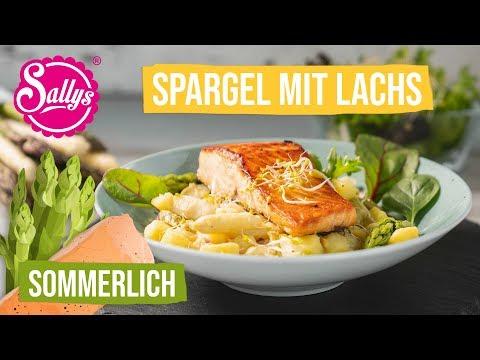 20 Minuten Sommer Rezept: Kartoffel-Spargel & gebratener Lachs / Sallys Welt