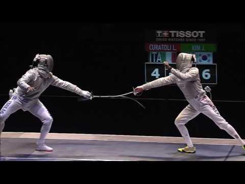 2017 SK Telecom Seoul Grand Prix - Men Semi Final  Kim Junghwan (KOR) VS Luca CURATOLI (ITA)