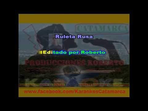 La Mona Jimenez   Ruleta Rusa ( karaoke ) (PRODUCCIONES ROBERTO)